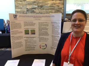 Online MMME alumnae Kanda Haight presents research
